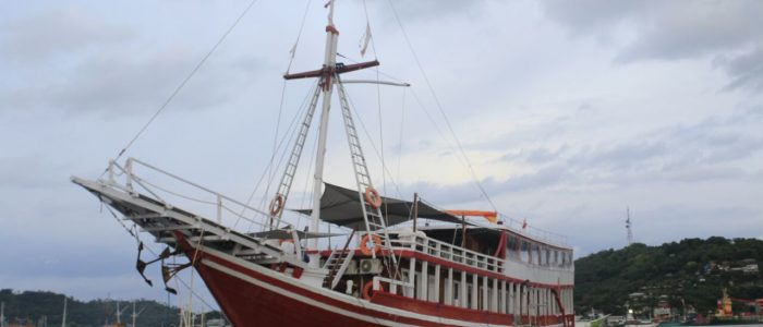 Komodo boat charter maximum 28 person